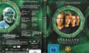 Stargate SG-1 (1997-2007) Staffel 3 R2 German DVD Cover & Labels