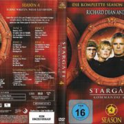 Stargate SG-1 (1997-2007) Staffel 4 R2 german DVD Cover & Labels