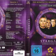 Stargate SG-1 (1997-2007) Staffel 5 R2 German DVD Cover & Labels