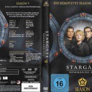 Stargate SG-1 (1997-2007) Staffel 9 R2 German DVD Cover & Labels