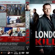 London Kills - Series 1 (2019) R1 Custom DVD Cover & Labels