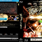 THE WAR OF THE WORLDS ALIVE FROM THE 02 (2012) BLU-RAY COVER & LABEL