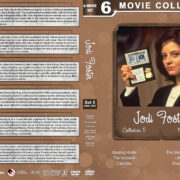 Jodie Foster Filmography - Collection 5 (1988-1991) R1 Custom DVD Cover