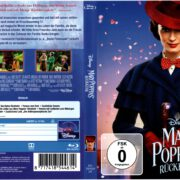Mary Poppins Rückkehr (2019) R2 German Blu-Ray Cover