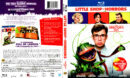 LITTLE SHOP OF HORRORS (1986) DIGIBOOK BLU-RAY COVER & LABEL