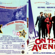 ON THE AVENUE (1937) R1 SLIM DVD COVER & LABEL