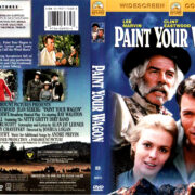 PAINT YOUR WAGON (1969) R1 DVD COVER & LABEL