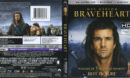 Braveheart (1995) R1 4K UHD Cover & Labels