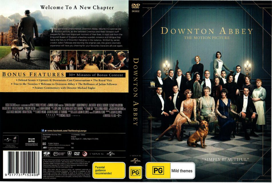 Downton Abbey 2019 R2 R4 Dvd Cover Dvdcover Com