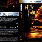 Harry Potter und der Stein der Weisen (2001) R2 German 4K UHD Covers