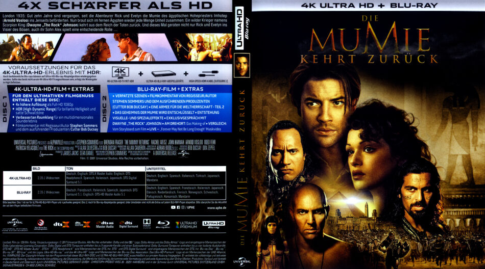 die mumie 2019 dvd