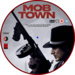 Mob Town (2019) R2 Custom DVD Label