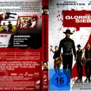 Die glorreichen Sieben (2016) R2 German Blu-Ray Cover