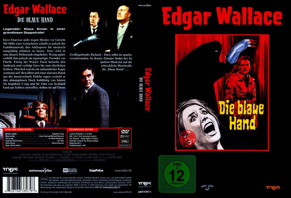 Die Blaue Hand 1967 R2 German Dvd Cover Dvdcover Com