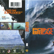 Point Break (2015) R1 Blu-Ray Cover & Labels