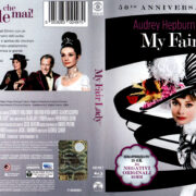 MY FAIR LADY (1964) R1 50TH ANNIVERSARY BLU-RAY COVER & LABEL