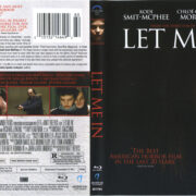 Let Me In (2010) R1 Blu-Ray Cover & Labels