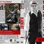 The Blacklist - Season 4 (2016) R1 Custom DVD Cover
