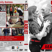 The Blacklist - Season 5 (2017) R1 Custom DVD Cover