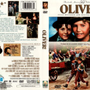 OLIVER (1968) R1 DVD COVER & LABEL