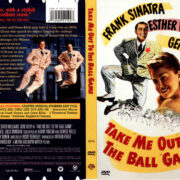 TAKE ME OUT TO THE BALL GAME (1949) R1 DVD COVER & LABEL