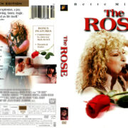 THE ROSE (1979) R1 DVD COVER & LABEL