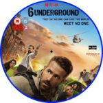 6 Underground (2019) R2 Custom DVD Label
