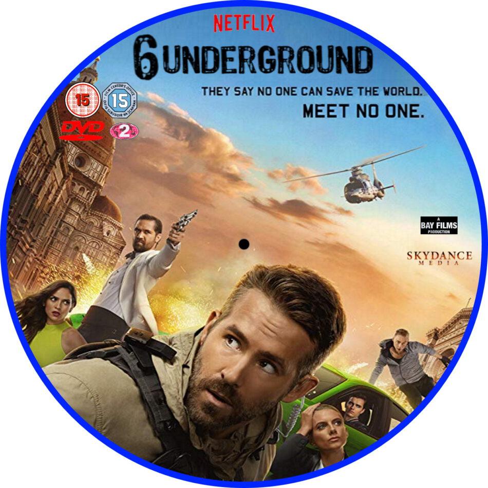 6 Underground 2019 R2 Custom Dvd Label Dvdcover Com