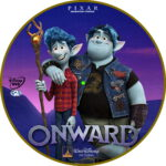 Onward (2020) R2 Custom DVD Label