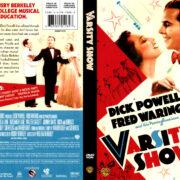 VARSITY SHOW (1937) R1 DVD COVER & LABEL