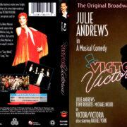 VICTOR VICTORIA THE BROADWAY CAST (1995) R1 BLU-RAY COVER & LABEL