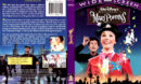 MARY POPPINS (1964) R1 DVD COVER & LABEL