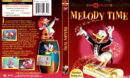 MELODY TIME (1948) R1 DVD COVER & LABEL