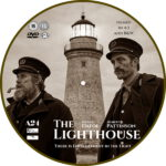 The Lighthouse (2019) R2 Custom DVD Label