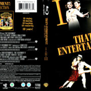 THAT'S ENTERTAINMENT THE COMPLETE COLLECTION BLU-RAY COVER & LABELS