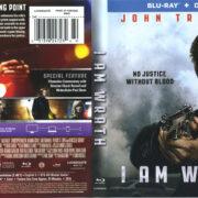 I Am Wrath (2016) R1 Blu-Ray Cover & Label
