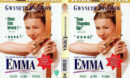 EMMA (1996) R1 DVD COVER & LABEL