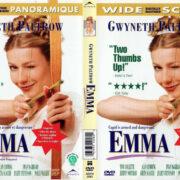 EMMA (1996) R1 DVD COVER & LABEL