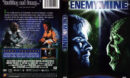 ENEMY MINE (1985) R1 DVD COVER & LABEL