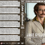 Jake Gyllenhaal Filmography - Set 6 (2017-2019) R1 Custom DVD Cover