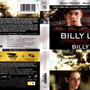BILLY LYNN'S LONG HALFTIME WALK (2017) 4K UHD/3D/BLURAY COVER & LABELS
