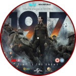 1917 (2020) R2 Custom DVD Label