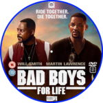 Bad Boys For Life (2020) R2 Custom DVD Label