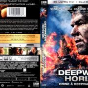 DEEPWATER HORIZON (2016) 4K UHD BLU-RAY COVER & LABELS