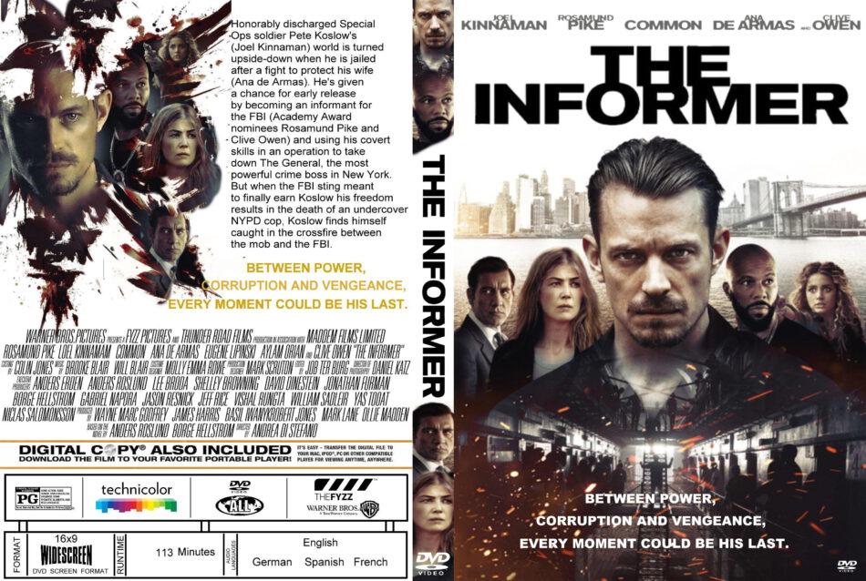 The Informer(2019) R2 Custom DVD Cover & Label - DVDcover.Com
