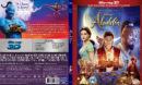 ALADDIN 3D (2019) R1 CUSTOM BLU-RAY COVER & LABEL