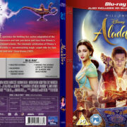 ALADDIN 3D (2019) R1 CUSTOM BLU-RAY COVER & LABEL