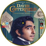 Personal History Of David Copperfield (2020) R2 Custom DVD Label