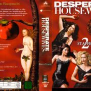 Desperate Housewives (2004-2012) Staffel 2 R2 German DVD Cover & Labels