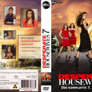 Desperate Housewives (2004-2012) Staffel 7 R2 German DVD Cover & Labels